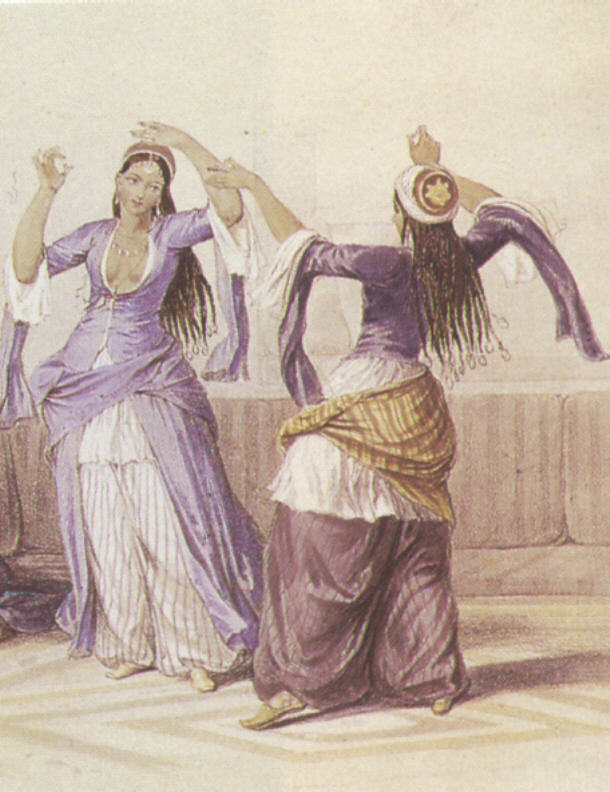 Middle Eastern Dance - The Ghawazee of Cairo bellydance history image